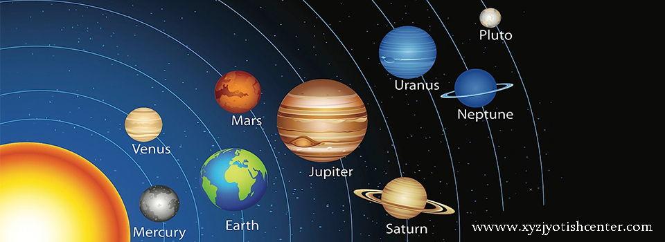 solar system in jyotish